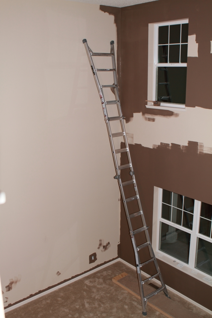 Last wall to paint
