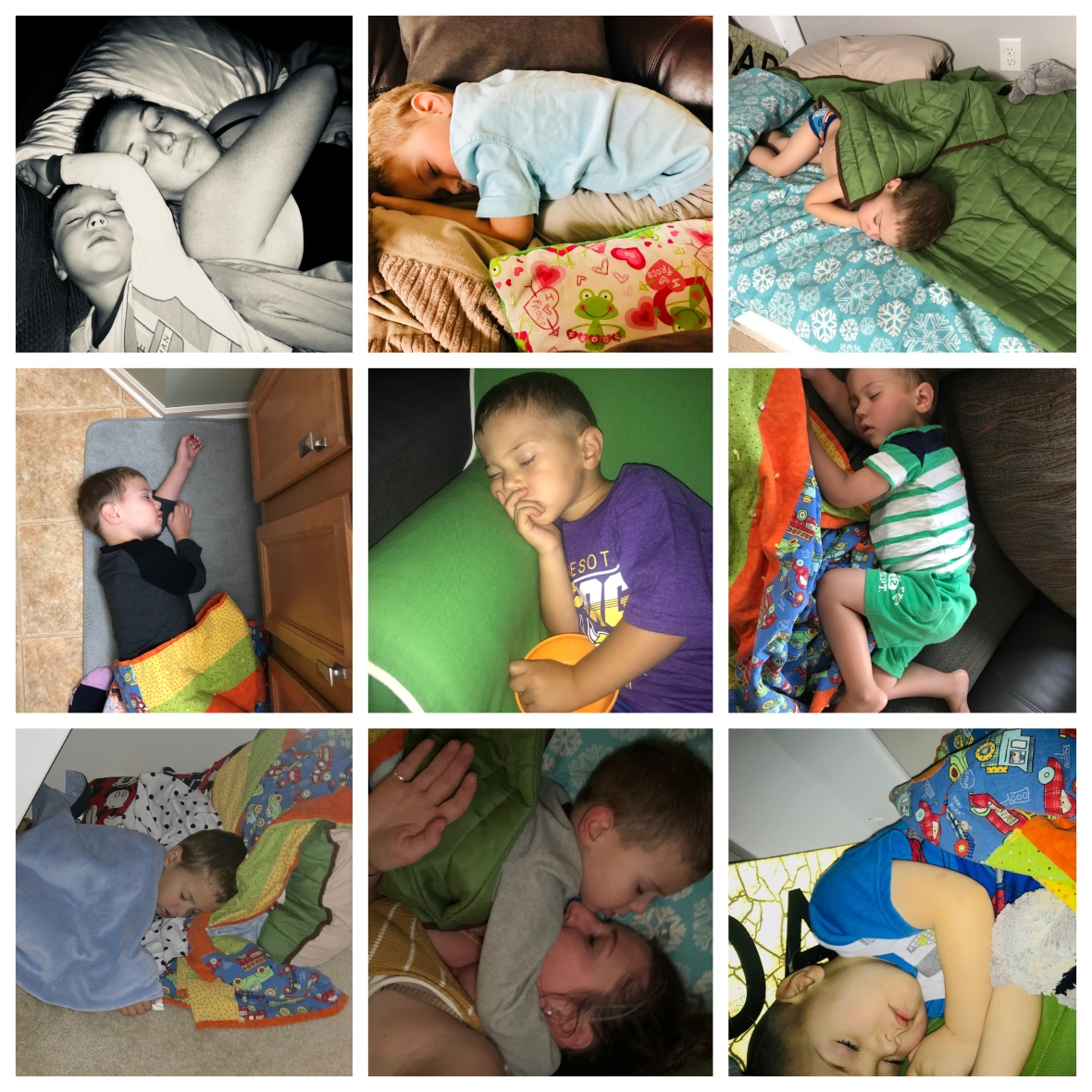 William Sleeping