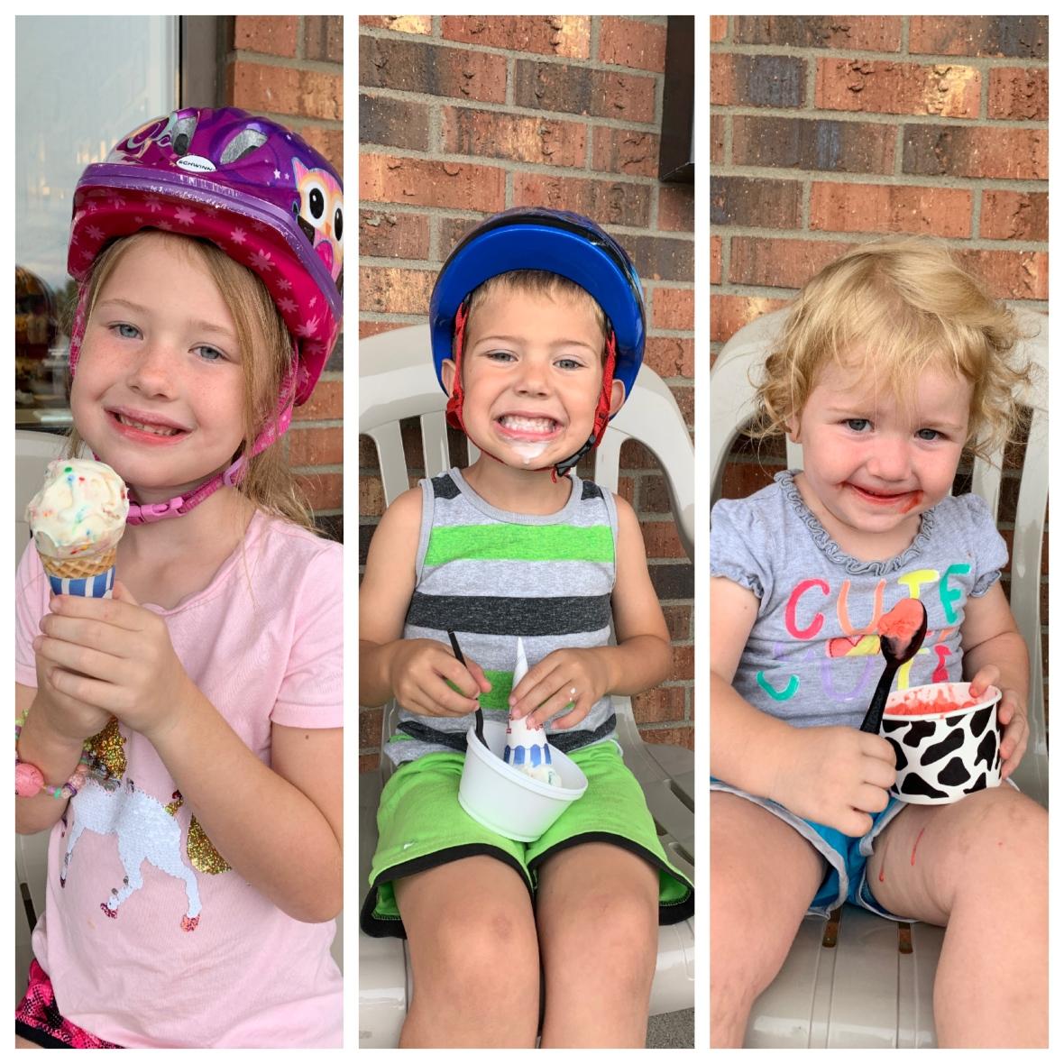 last day of summer ice cream